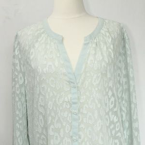 Banana Republic Blouse sz Large Women Business Top